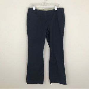LOFT 12 Blue Bootcut Chino Pants NWT